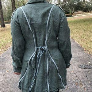 Cynthia Ashby Linen Jacket